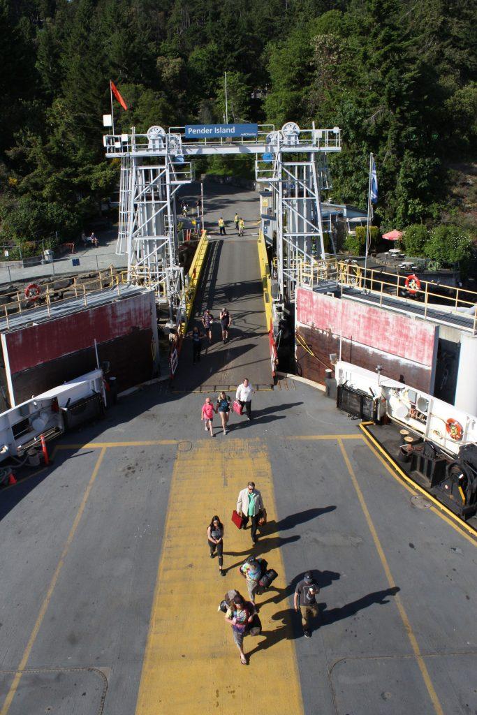 BC Ferry docking