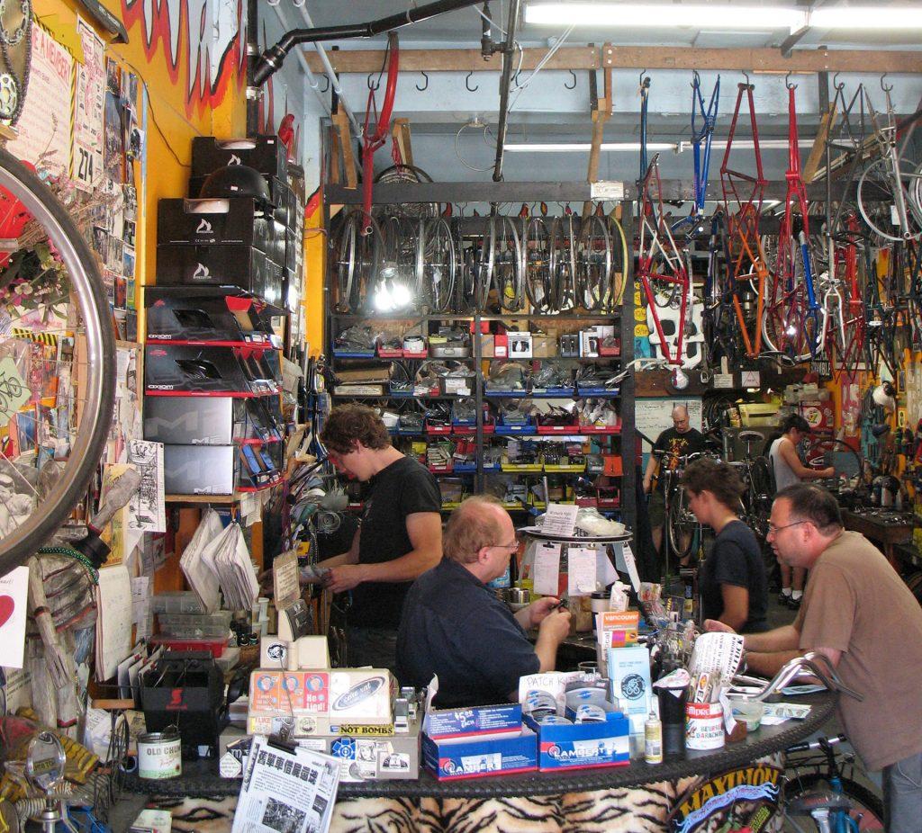 Our Community Bikes interior