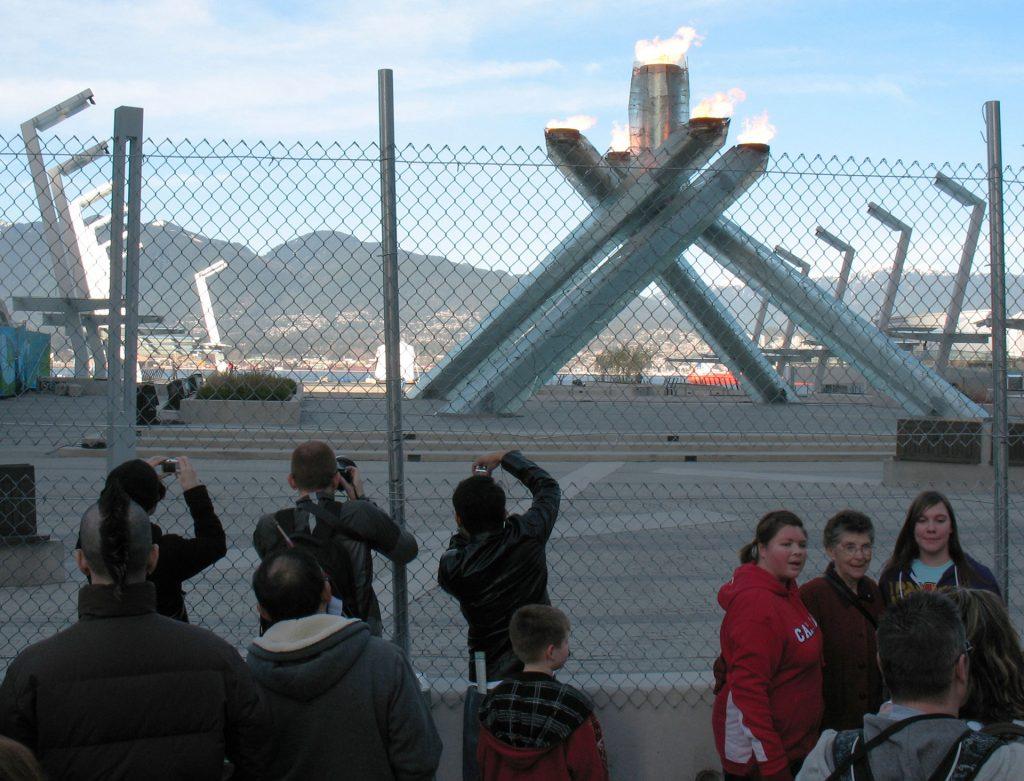 2010 Olympic cauldron
