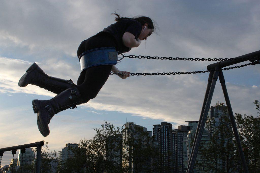 Charleson Park swinger
